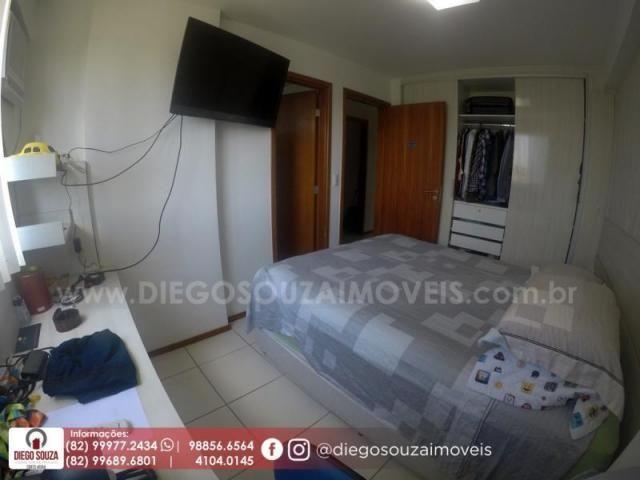 Apartamento para venda em maceió, farol, 3 dormitórios, 1 suíte, 1 banheiro, 2 vagas - Foto 14