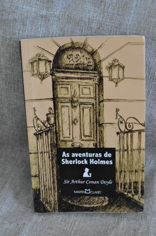 Livro As Aventuras de Sherlock Holmes - Arthur Conan Doyle - sebo - Foto 4