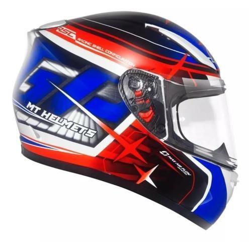 Capacete MT Helmets Revenger 58 + Viseira Camaleão