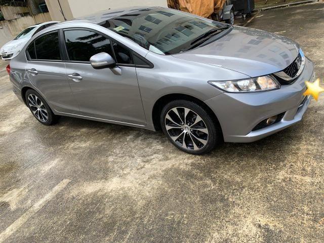 Honda Civic LXR Flex Automático 2015 (Garantia de fábrica)