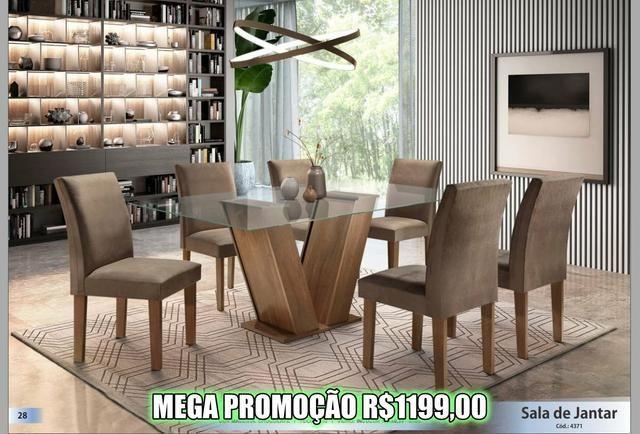 Super Promoção - Sala de Jantar em Laica - Foto 3