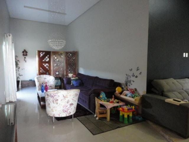 Vicente pires, linda e moderna casa, sala com pé direito duplo - Foto 6