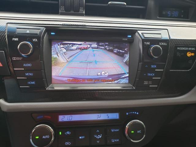 Toyota corolla XEI 2.0 14/15 flex aut. preto - Foto 7