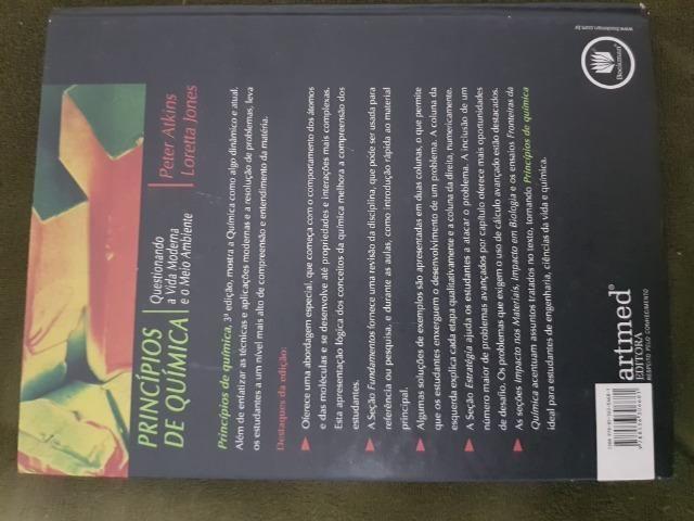 Livro Princípios de quimica peter atkinks loretta jones 3a edição - Foto 2