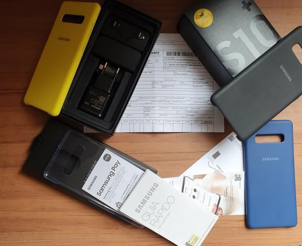 Galaxy S10 Plus Ceramic Black 512GB Novo NF e garantia até Agosto 2020 - Foto 4