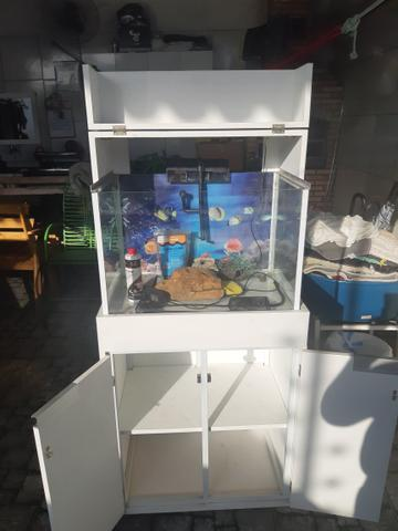 Aquario com movel - Foto 2