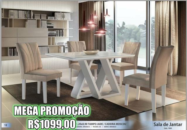 Super Promoção - Sala de Jantar em Laica - Foto 6