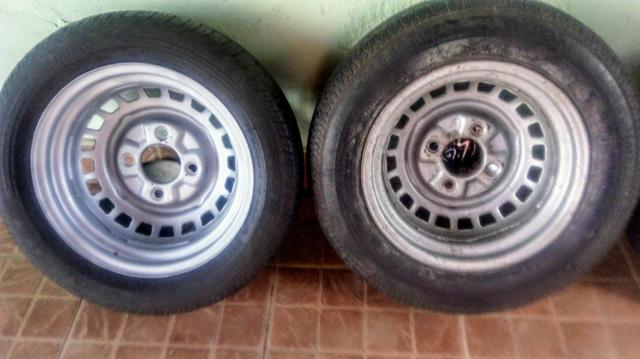 Rodas VW fusca aro 15 4 furos - Foto 6