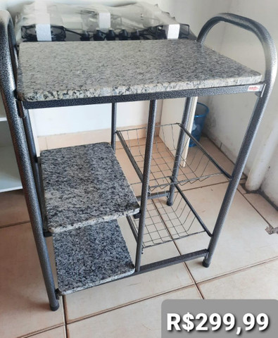 Balcão de cozinha no granito nova  - Foto 3