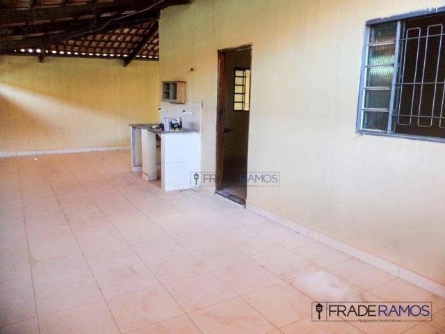 Casa com 3 dormitórios para alugar por R$ 750,00/mês - Residencial Solar Bougainville - Go