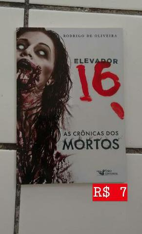 """Livro """"As Crônicas dos Mortos"""" de Rodrigo de Oliveira"""