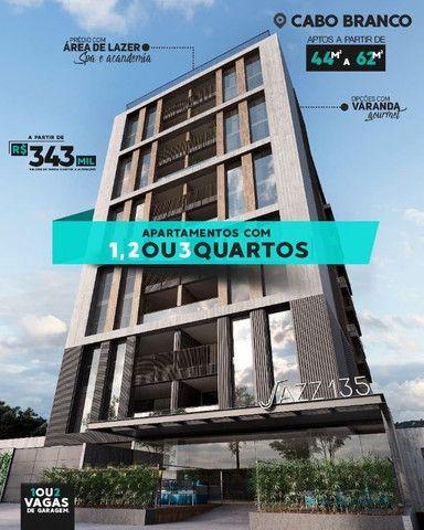 Jazz 135 - Cabo Branco - 44 m² a 62 m² - 01, 02 e 03 Qts - 01 vg - Foto 2