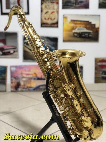 Sax Saxofone Tenor (Sib) Revisado, Higienizado, - Foto 4