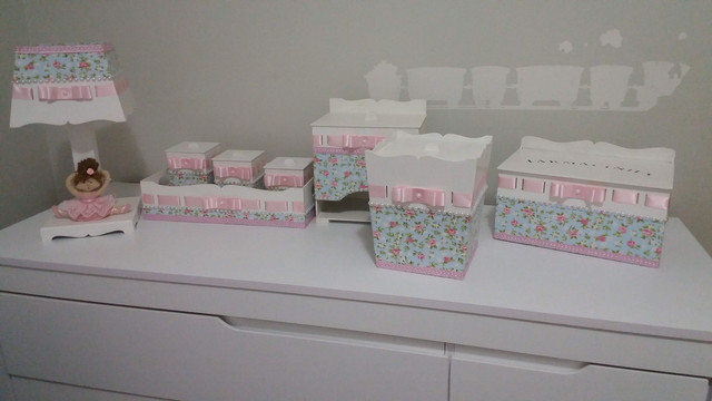 Kit higiene bebê personalizado - Foto 4