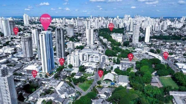 Apartamento com 3 dormitórios à venda, 80 m² por R$ 446.000,00 - Setor Bueno - Goiânia/GO - Foto 17