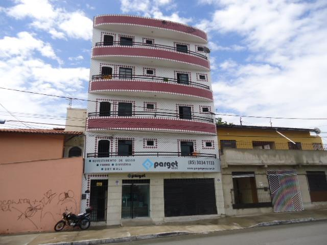 Apartamento com 1 dormitório para alugar, 45 m² - Monte Castelo - Fortaleza/CE