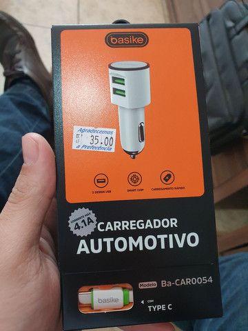 Carregador automotivo inteligente  - Foto 3