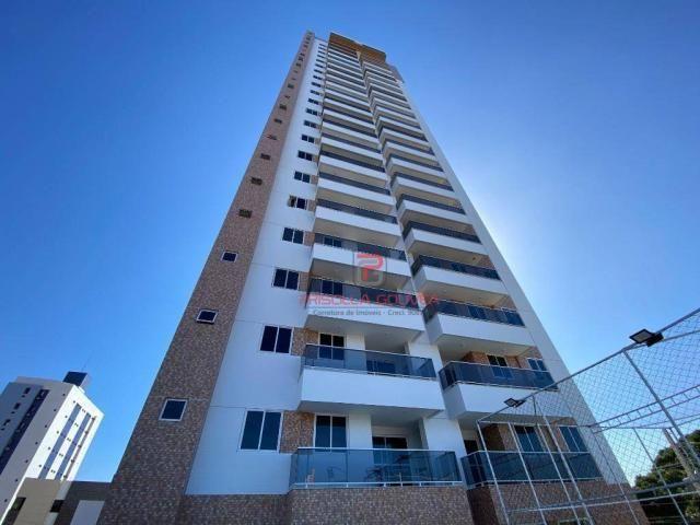 Apartamento novo, 2 quartos, andar alto, varanda gourmet e 2 vagas de garagem