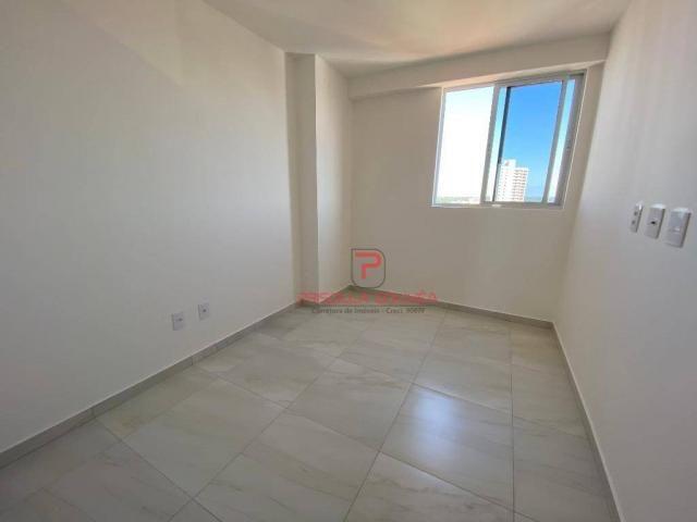 Apartamento novo, 2 quartos, andar alto, varanda gourmet e 2 vagas de garagem - Foto 13