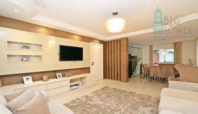 Casa com 3 dormitórios Cond. Fechado à venda, 180 m² - Fazendinha - Curitiba/PR - Foto 10