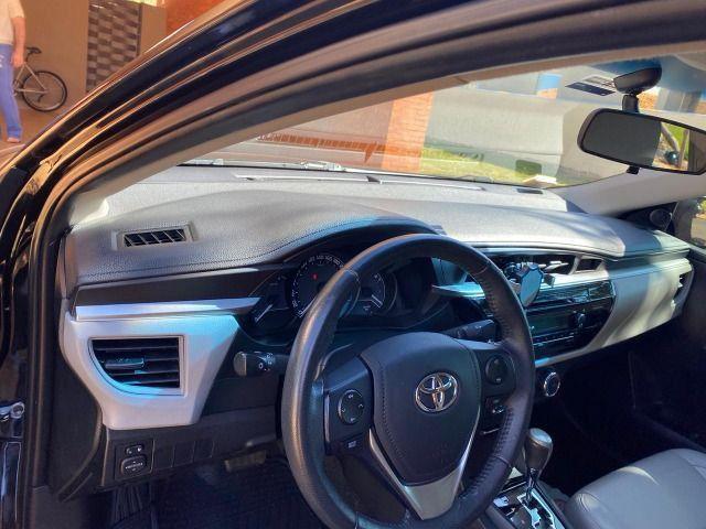 Toyota Corolla 1.8 gli 16v Fflex 4P Automático - Não aceito trocas - Foto 5