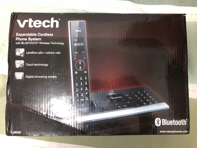 Telefone fixo VTECH.