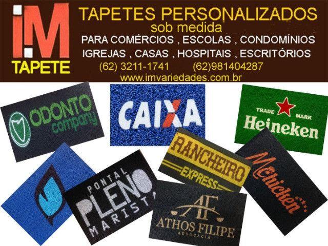 Tapetes personalizados sob medida
