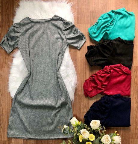 Vestido canelado - Foto 5