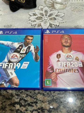 Vendo Fifa 20 e Fifa 19 PS4