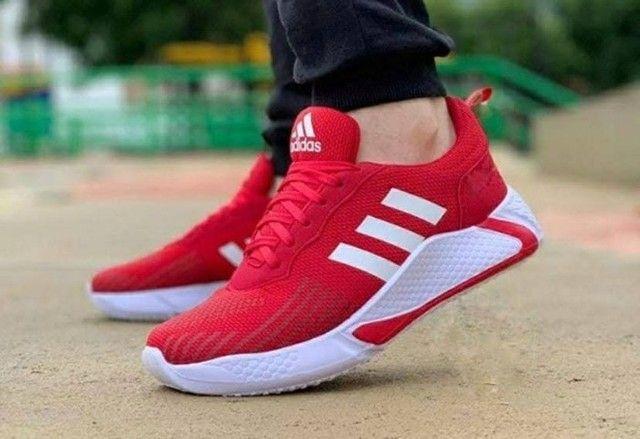Tenis (Leia a Descrição) Tênis Adidas New Top Várias Cores - Foto 2