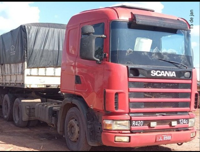Vende Cavalo Scania 124 420 ano 2000 série 4 - Foto 4