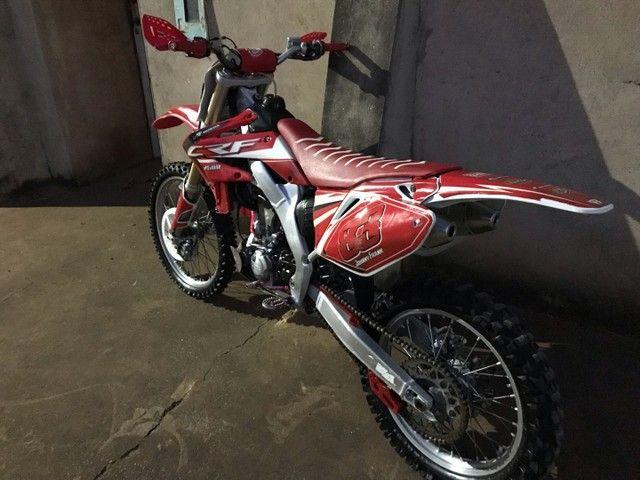 Crf 250R 2009 moto de trilha  - Foto 4