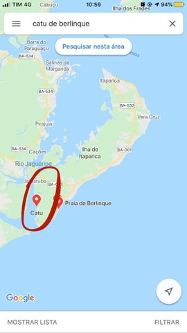Lote barato na ilha Catu/berlinque -Vera Cruz oportunidade monte seu plano de pagamento! - Foto 7