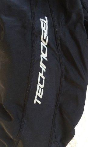 Calça de ciclismo com gel masculino