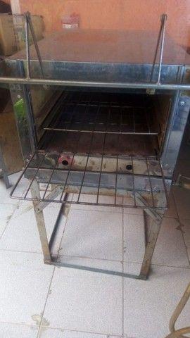 Forno a gás de inox - Foto 3