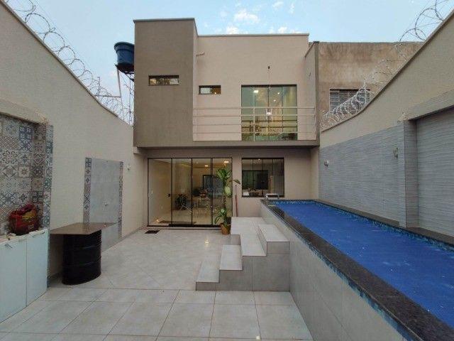 Sobrado 3 Qts, 2 Suítes, com piscina - Res. das Acácias, Goiânia - Aceita carro - Foto 8