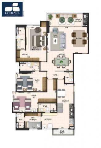 Apartamento com 3 quartos sendo 3 suítes no Altiplano Cabo Branco! - Foto 18