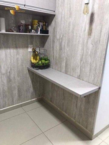Apartamento com 3 dormitórios à venda, 106 m² por R$ 750.000,00 - Areão - Cuiabá/MT - Foto 14