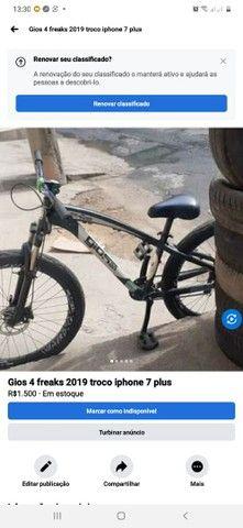 Bike gios 4freaks troco iphone 7 plus