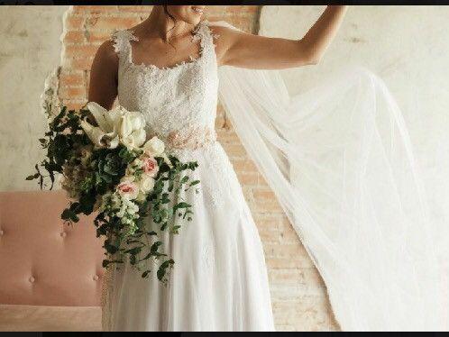 Vestido de noiva com capa (veu) estilo grego Artha Ateliê  - Foto 4