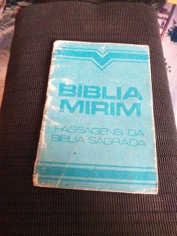 Bíblia Pequena. Com 32 passagens