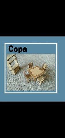 Casinha com móveis  - Foto 6