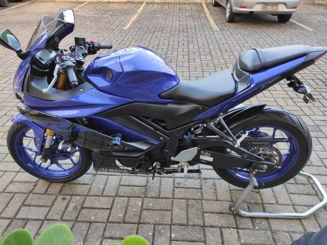 Yamaha R3 2020 2.200km ( anúncio real ) - Foto 4