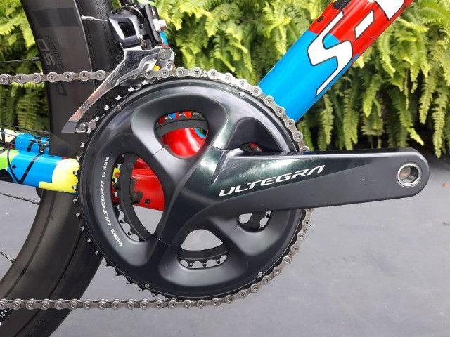 Bicicleta Semi Nova Tarmac SL6 SW Disc - Foto 4