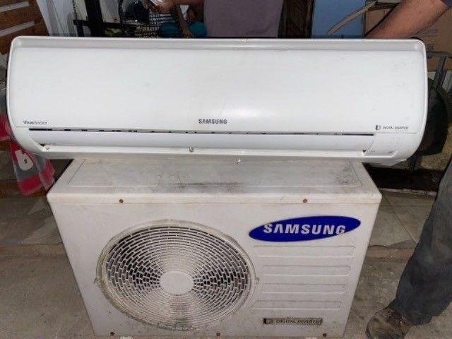 Ar condicionado Samsung 24000 btus inverte funcionando perfeitamente