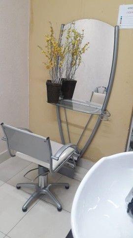 Espelho + Cadeira para salão  - Foto 3