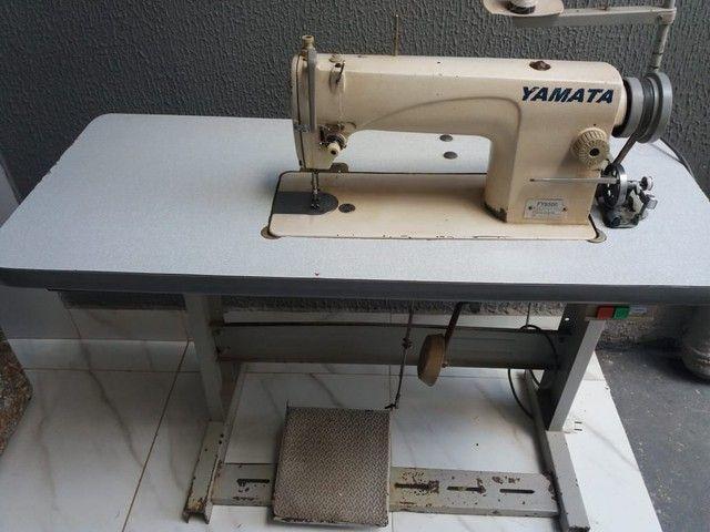 Vendo essa máquina reata yamata ou troco passo cartão  - Foto 2