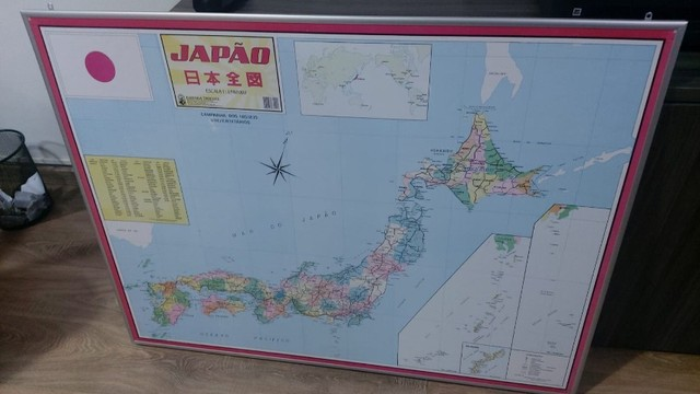 vendo mapa do japão