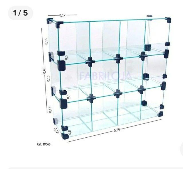 Reforma de modulados de vidros