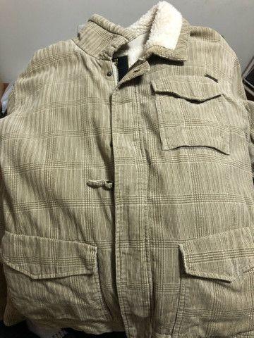 Jaqueta de lã Billabong tamanho M - Foto 3
